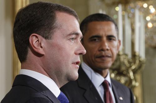 Obama a Medvěděv