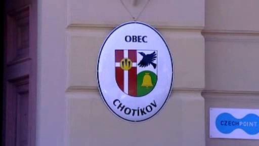 Znak obce Chotíkov