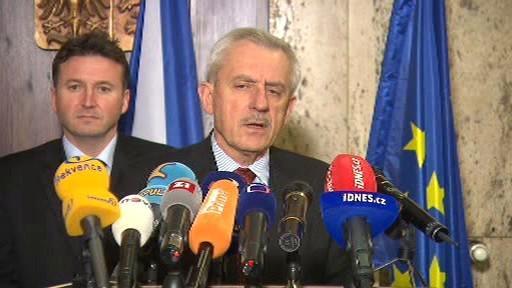 Milan Kubek a Leoš Heger