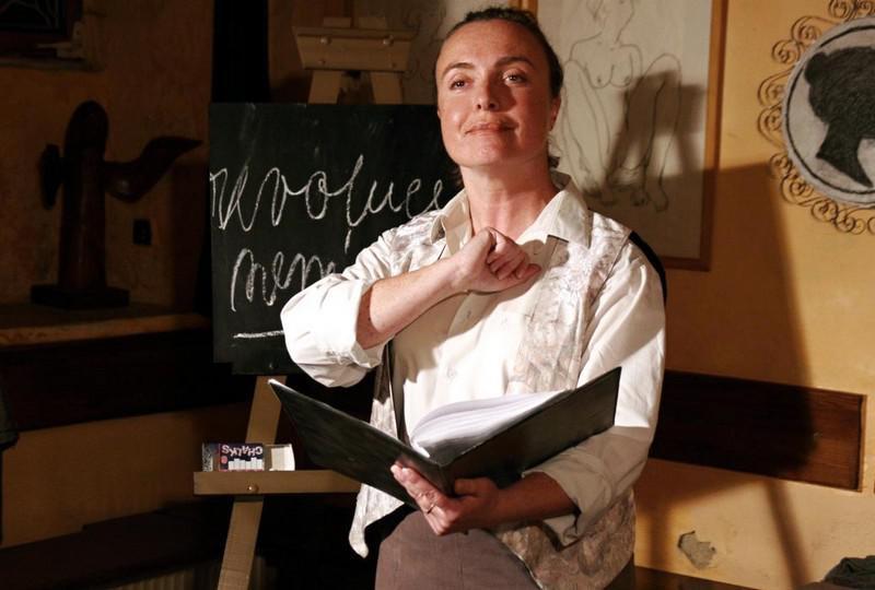 Eva Přibylová jako dona Margarida