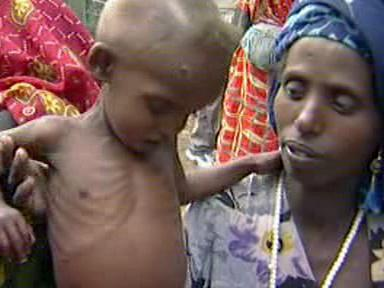 Dítě v Africe