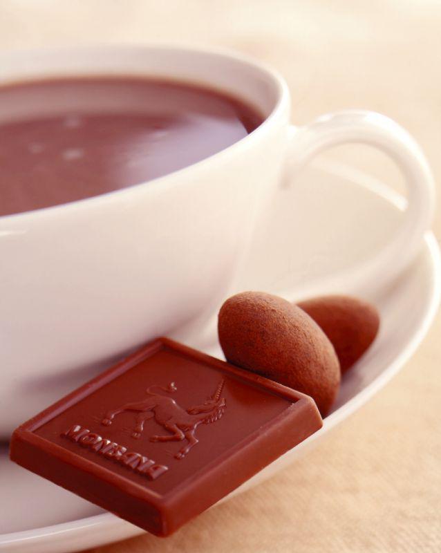 Šálek horké čokolády