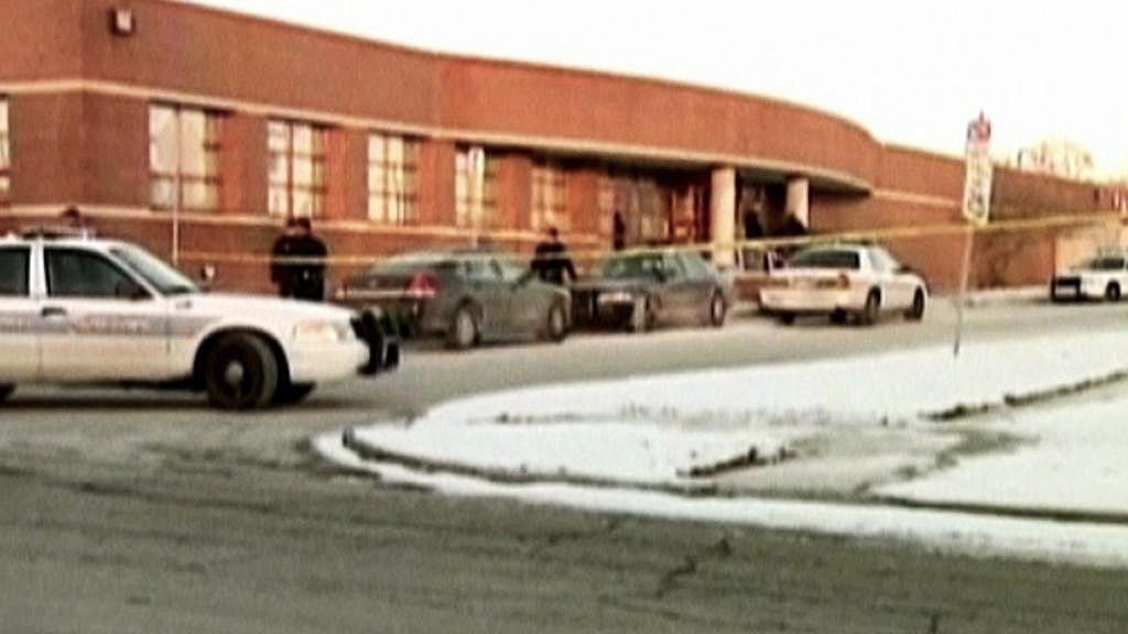 Napadená policejní stanice v Detroitu