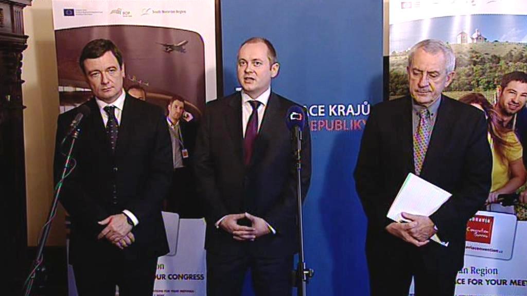 David Rath, Michal Hašek a Leoš Heger