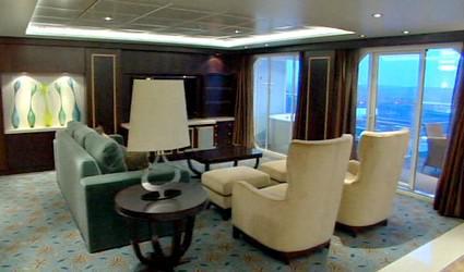 Interiér zámořské lodi