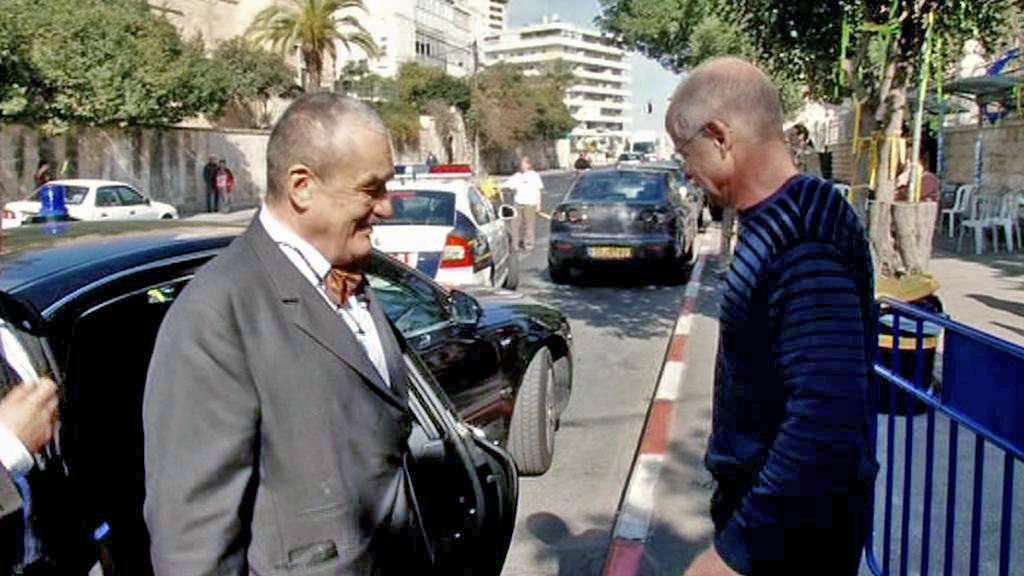 Karel Schwarzenberg v Izraeli