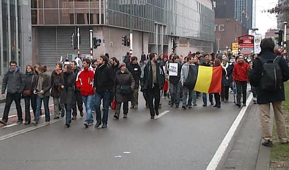 Belgický protest