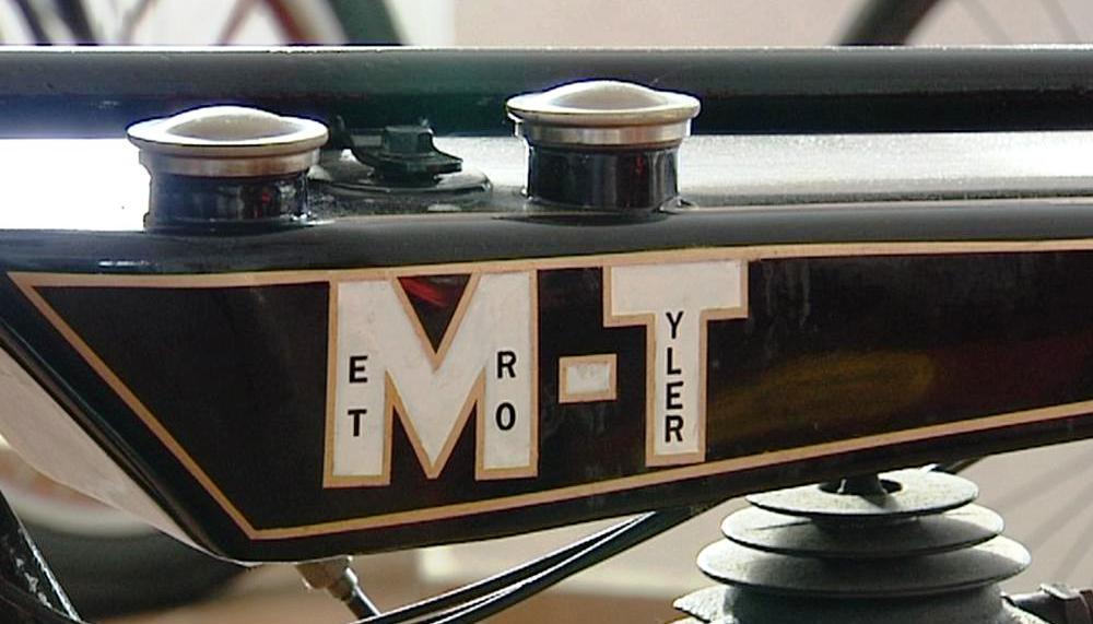 Motocykl značky Metro-Tyler