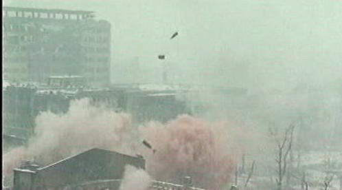 Exploze v ruském městě