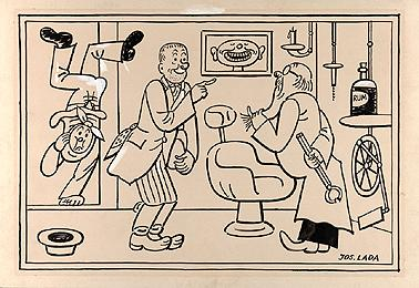 Josef Lada / U zubaře