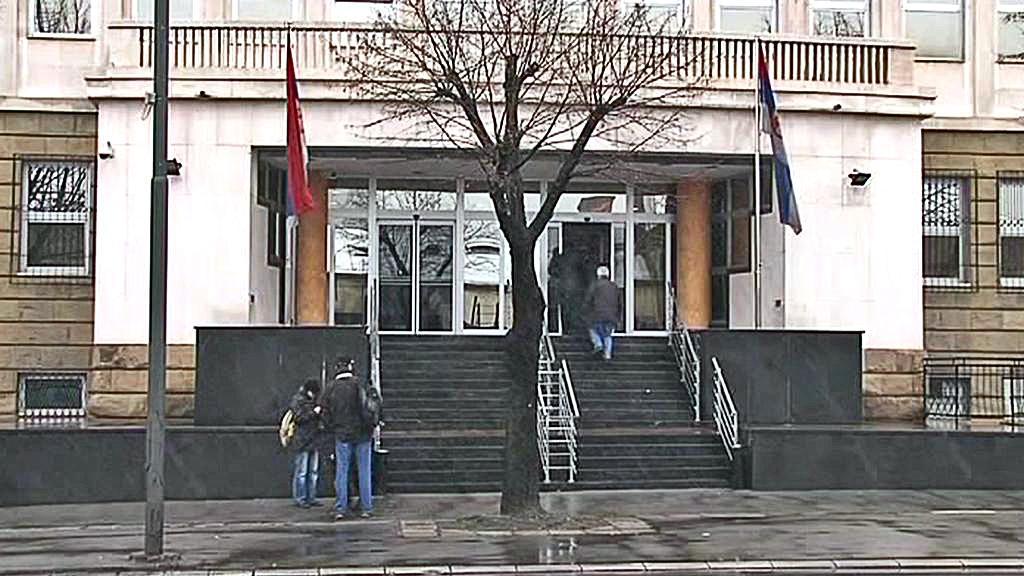 Budova srbského soudu