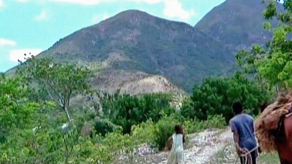 Pohoří na jihovýchodě Haiti