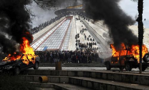 Nepokoje v Albánii