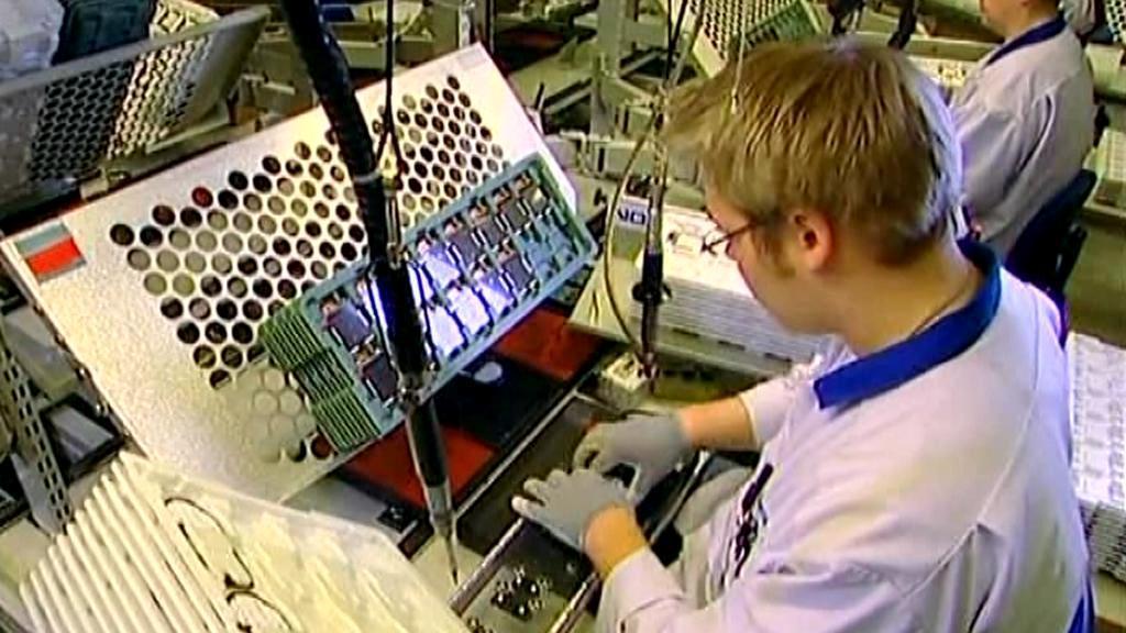 Výroba mobilních telefonů