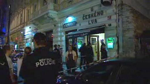 Výbuch v pražské restauraci