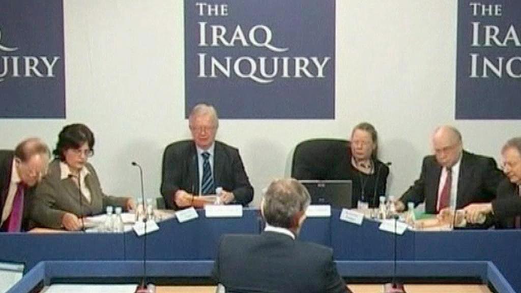 Britská komise vyšetřující invazi do Iráku