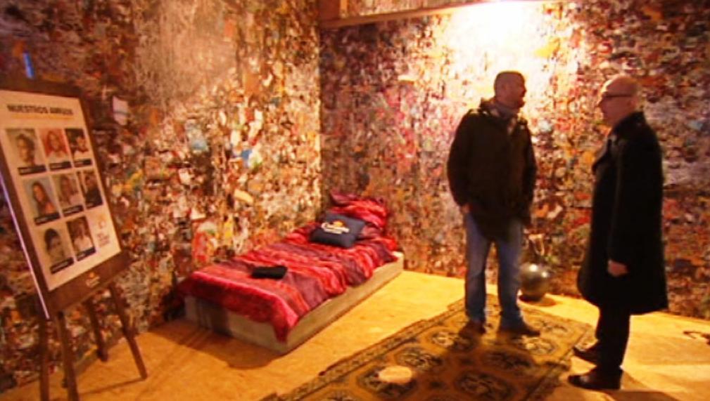 Interiér Hotelu ze smetí