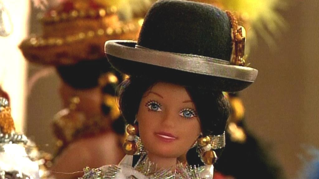 Indiánská Barbie