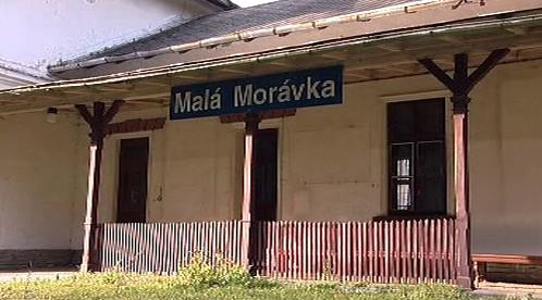 Železniční stanice Malá Morávka