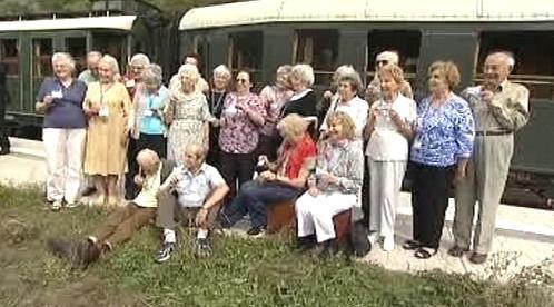 Pamětníci vlaku Winton train