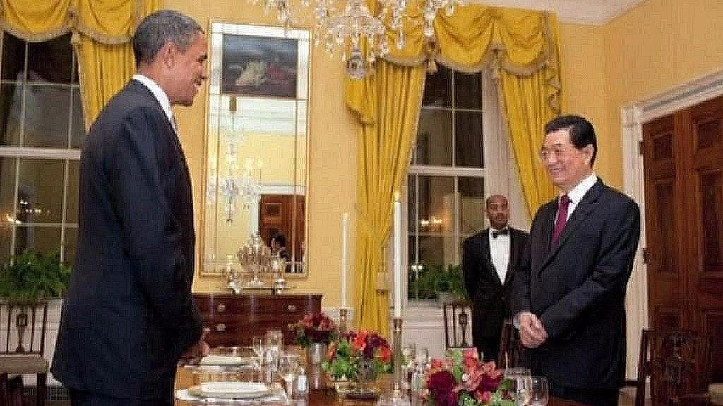 Barack Obama a Chu Ťin-tchao