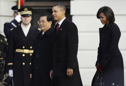 Chu Ťin-tchao a Barack Obama