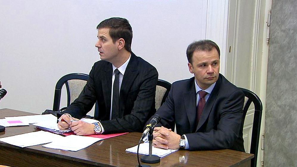 Jacek Spyra v soudní síni