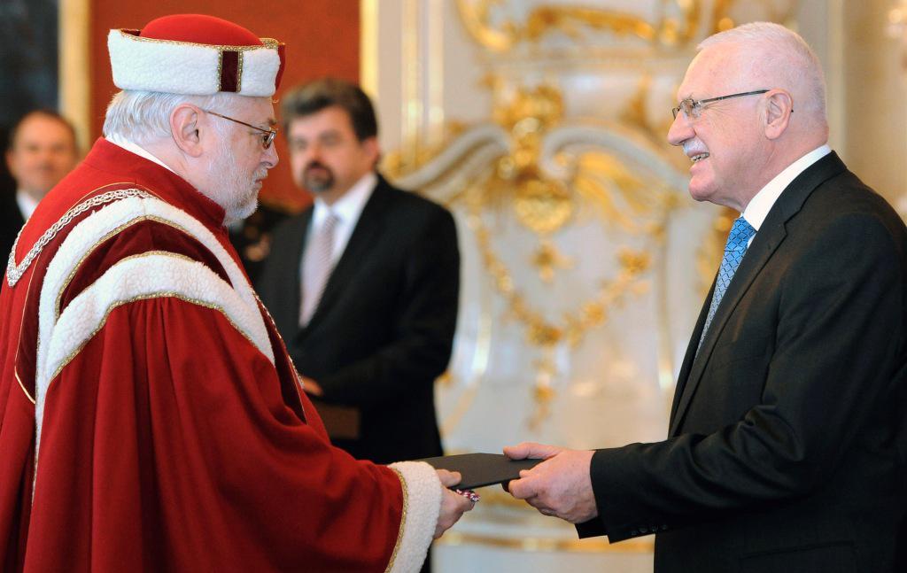 Prezident jmenoval nové rektory