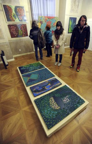 Výstava k cenám Grafika roku a Cena V. Boudníka 2010