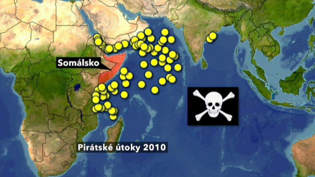 Útoky somálských pirátů v roce 2010