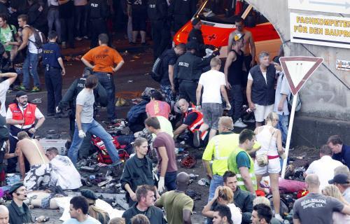 Neštěstí na technoparty Loveparade