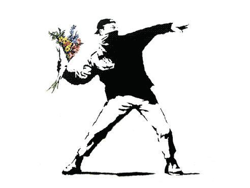 Kresba Banksyho