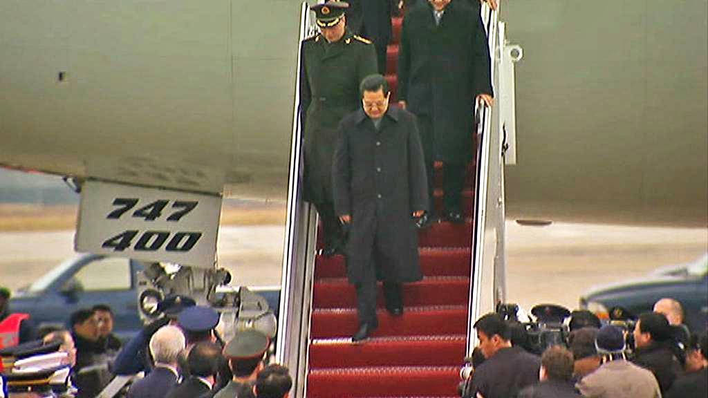 Chu Ťin-tchao přiletěl do USA