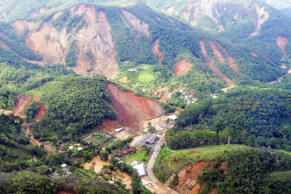 Sesuvy půdy v Brazílii