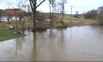 Velká voda na Táborsku