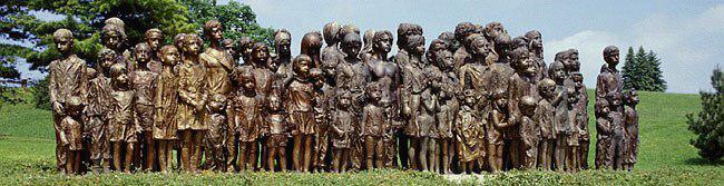 Památník lidických dětí