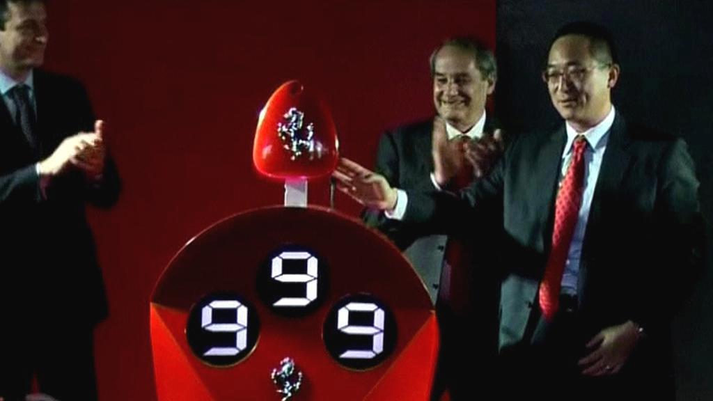 999. čínský zákazník Ferrari