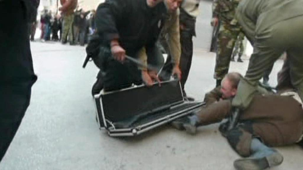 Napadení lovců v Tunisku