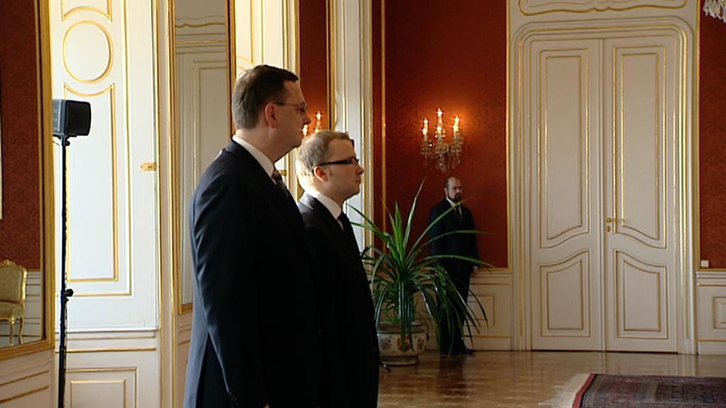 Petr Nečas a Tomáš Chalupa