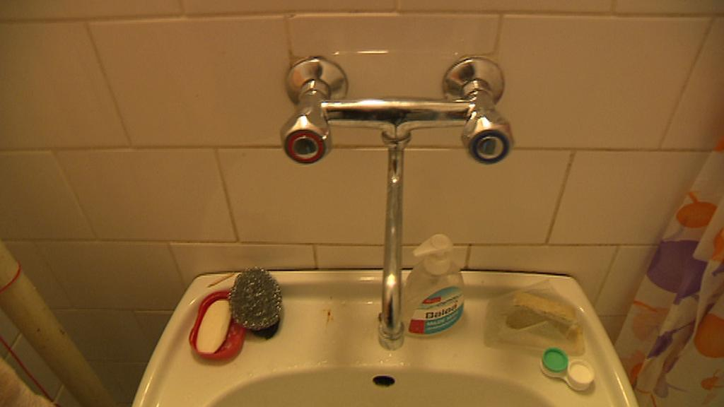 Koupelna na koleji