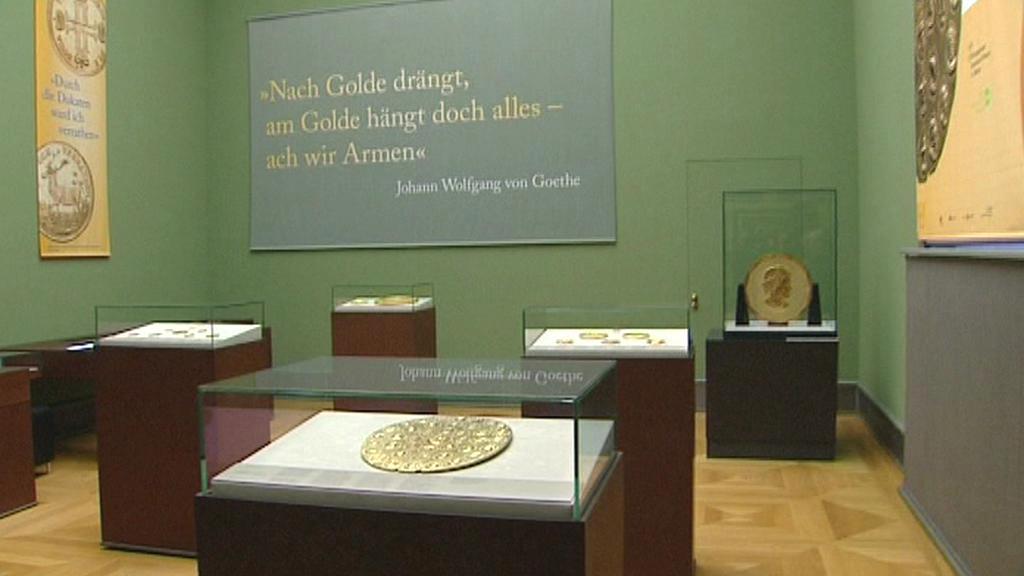 Výstava Zlatí obři