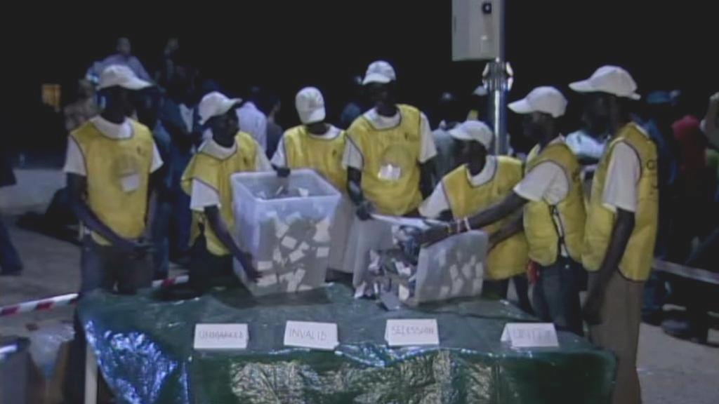 Sčítání hlasů v Súdánu