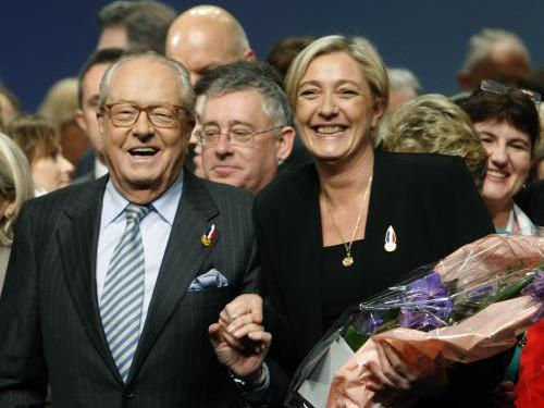 Jean-Marie Le Pen a Marine Le Penová