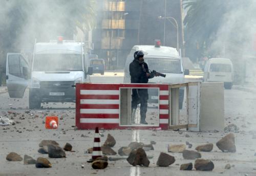 Nepokoje v Tunisku