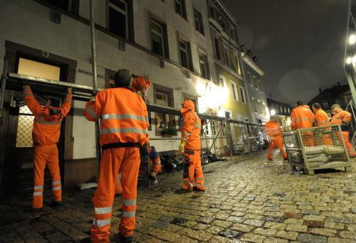 Heidelberg se připravuje na povodně