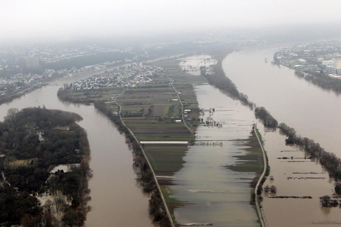 Záplavy v Koblenci