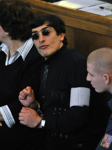Andranik Soghojan v soudní síni