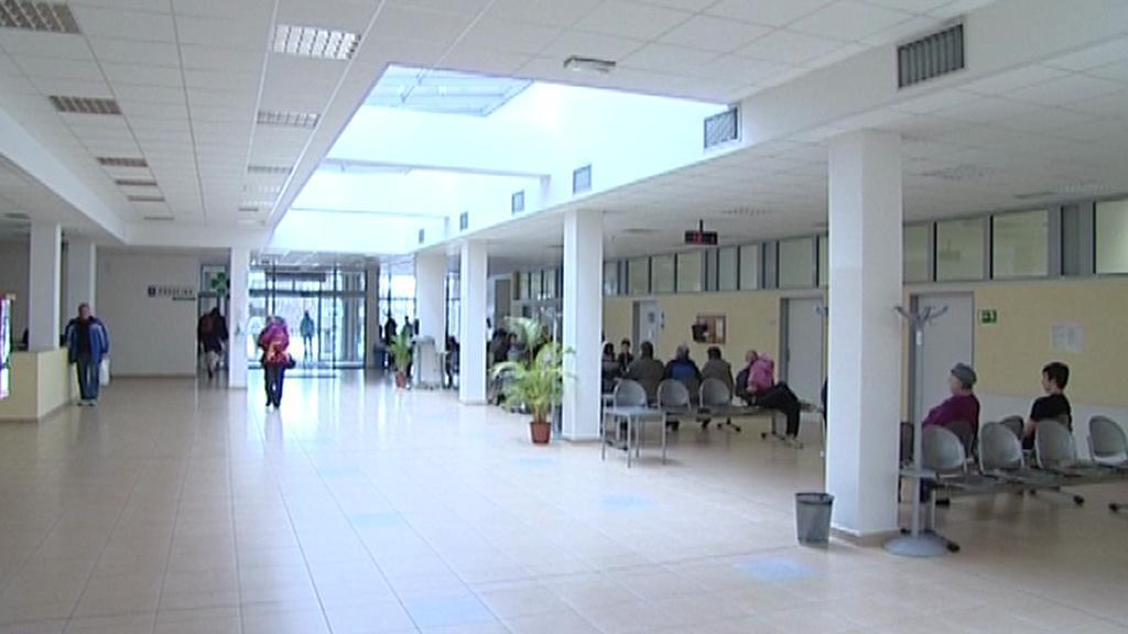 Vstupní hala táborské nemocnice