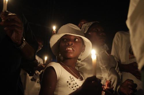 První výročí zemětřesení na Haiti