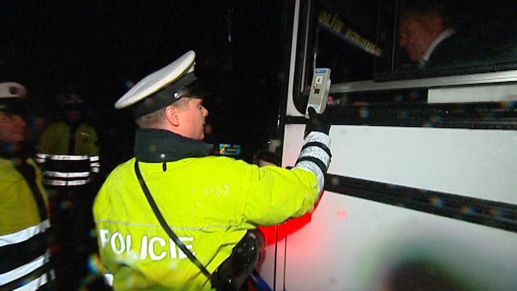 Kontrola řidičů na alkohol